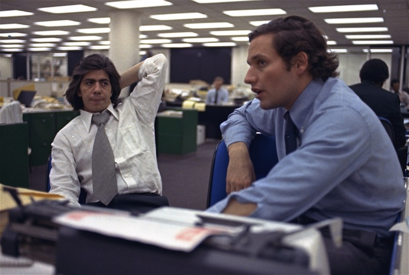 Carl Bernstein e Bob Woodward, i due giornalisti che fecero esplodere lo scandalo Watergate.