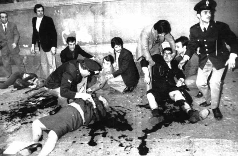 La strage davanti alla Questura di Milano del 17 maggio 1973.