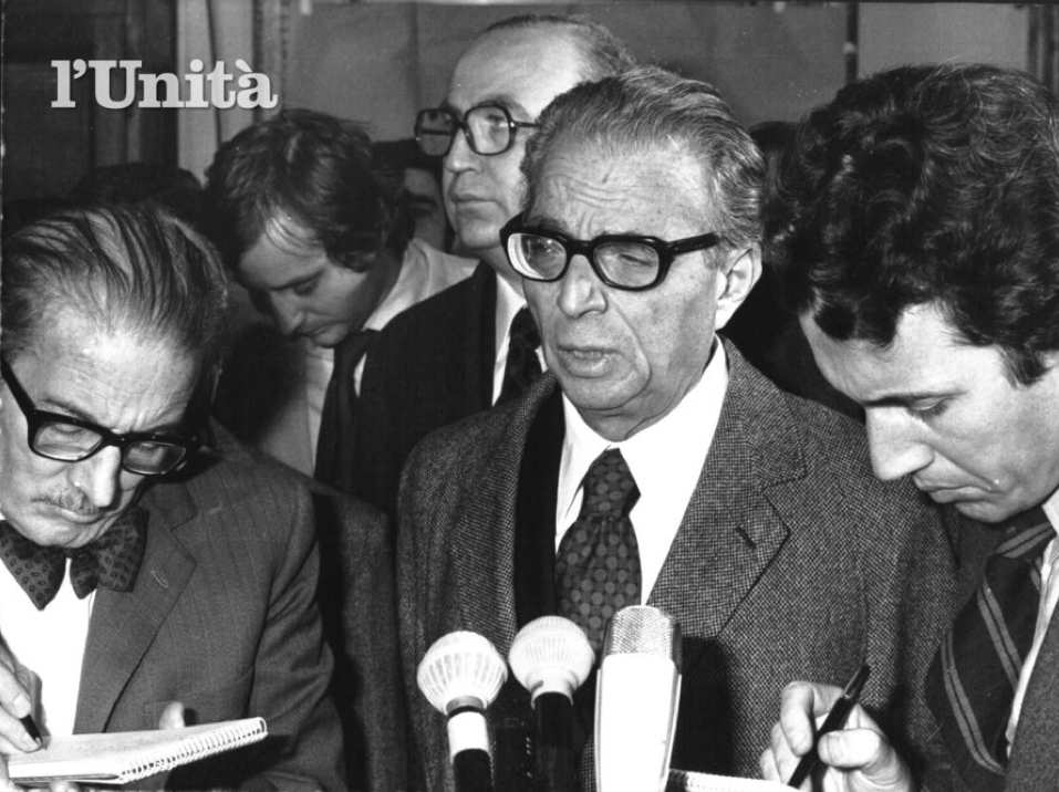Ugo La Malfa nel 1973.