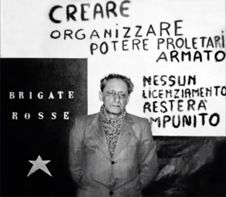 Ettore Amerio, dirigente Fiat, sequestrato dalle Brigate rosse nel dicembre 1973.