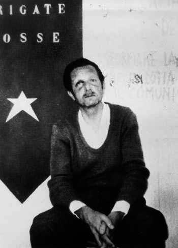Il giudice Mario Sossi sequestrato dalle Brigate rosse.