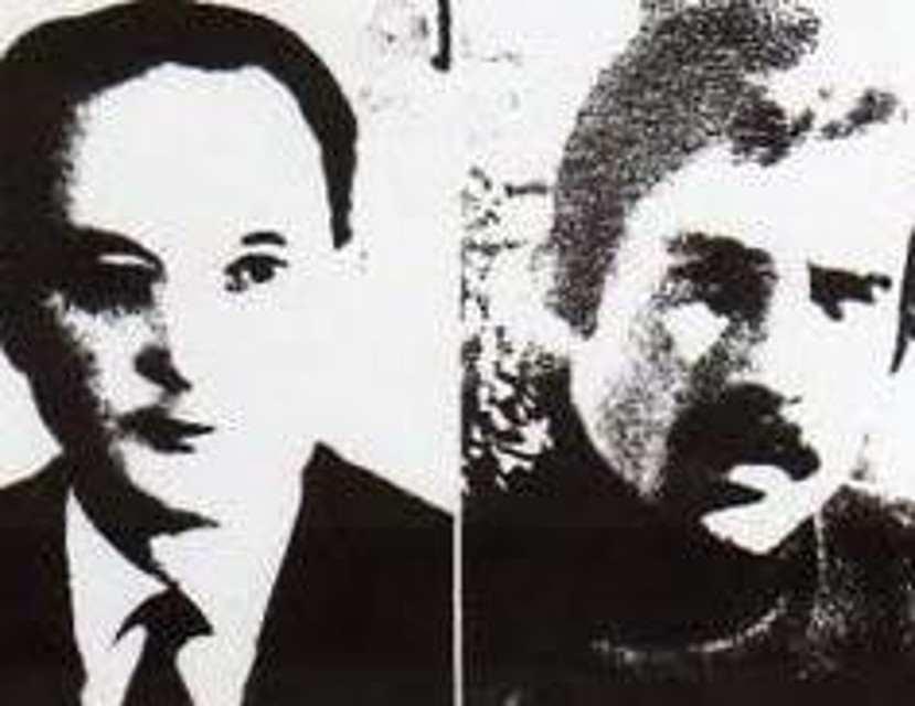 I militanti missini Graziano Giralucci e Giuseppe Mazzola uccisi dalle Brigate rosse a Padova il 17 giugno 1974.