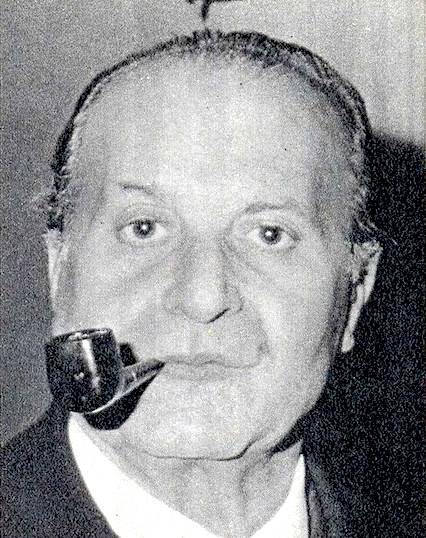 Vito Miceli, ex capo del Sid, in una foto di pochi giorni prima del suo arresto del 31 ottobre 1974.