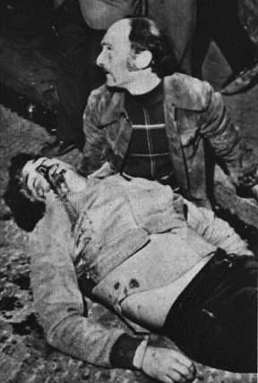 Rodolfo Boschi ucciso dalla polizia a Firenze il 18 aprile 1975.