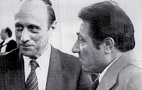 Gianadelio Maletti e Antonio La Bruna, dirigenti del Sid, arrestati il 28 febbraio 1976 per il sostegno all'espatrio di neofascisti implicati nella strage di piazza Fontana.