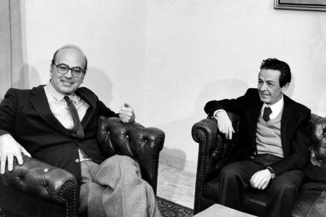 Craxi e Berlinguer in un incontro del 1978.