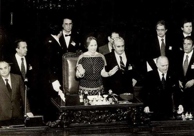 1979 1983 i governo cossiga for Presidente dei deputati