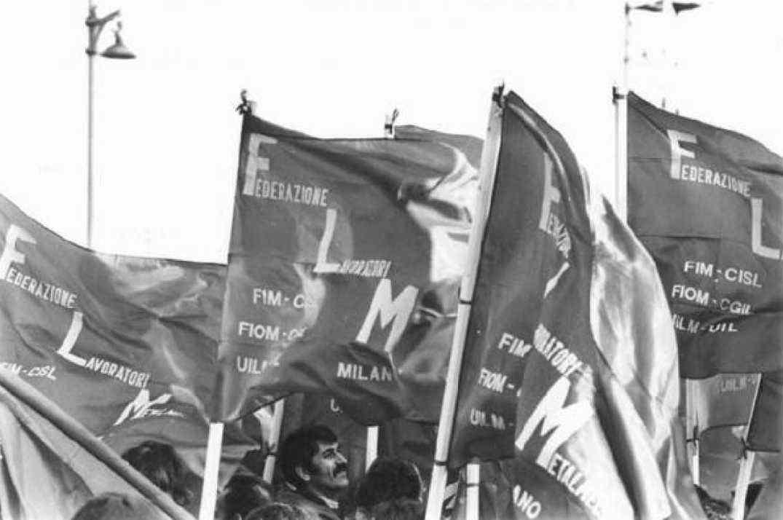 Sciopero nazionale dei metalmeccanici il 4 luglio 1979.