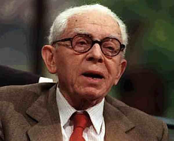 Leo Valiani, nominato senatore a vita il 12 gennaio 1980.