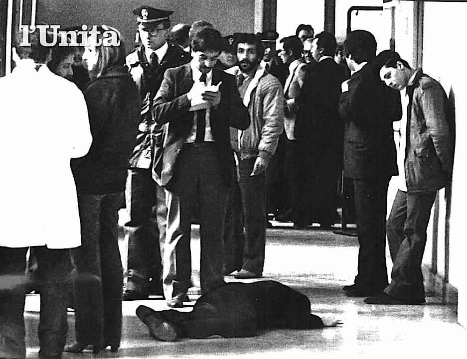 Guido Galli, magistrato e docente di criminologia, ucciso il 19 marzo 1980 a Milano dalle Brigate rosse.