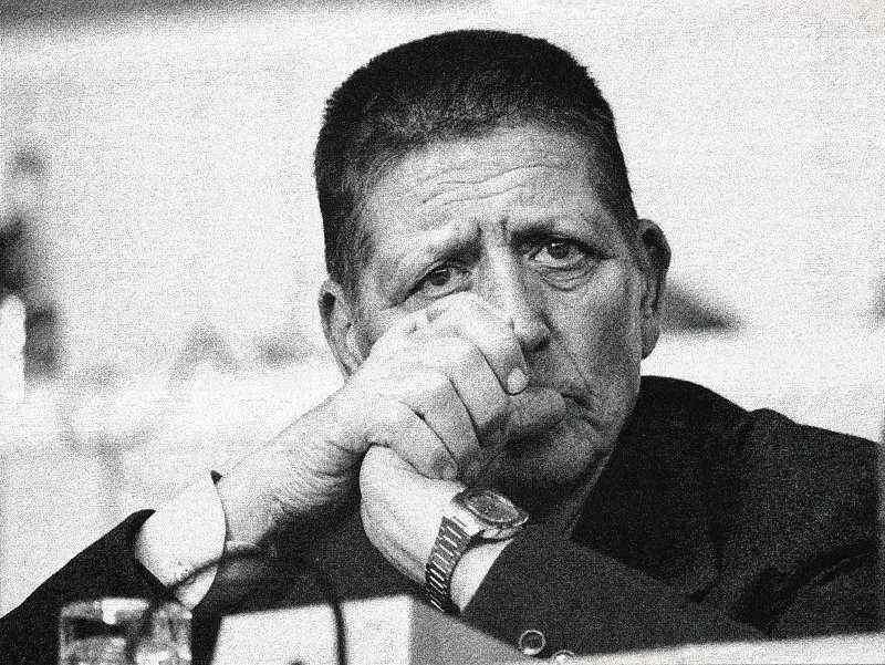 Giorgio Amendola, morto il 5 giugno 1980.