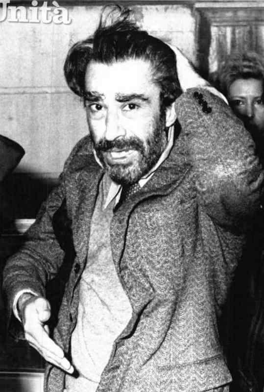 Il giudice D'Urso subito dopo la liberazione.