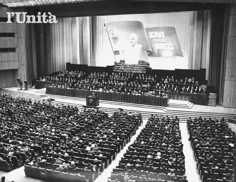 Il 27 febbraio 1981 a Mosca si apre il XXVI congresso del Pcus.