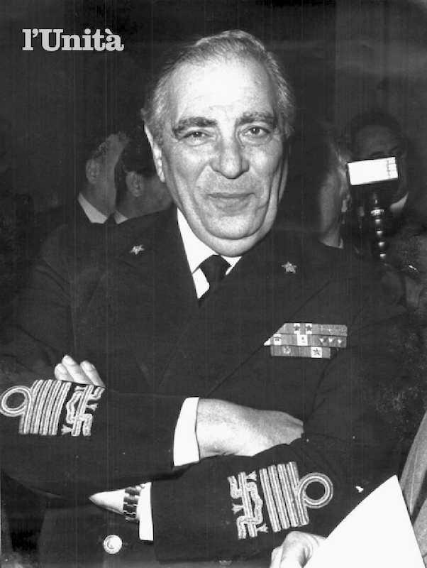 L'8 luglio 1981 l'ammiraglio Giovanni Torrisi, iscritto alla loggia P2 di Gelli, si dimette da capo di Stato maggiore della Marina.