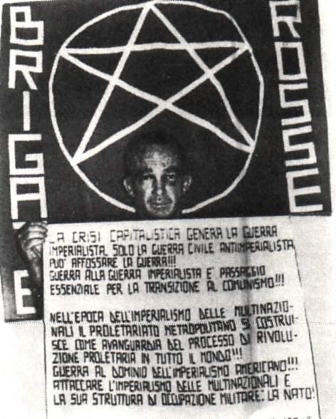 Il gen. americano Dozier rapito dalle Brigate rosse il 17 dicembre 1981.