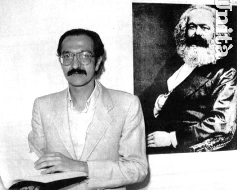 Giovanni Russo Spena, eletto segretario di Democrazia proletaria dal congresso del giugno 1989.