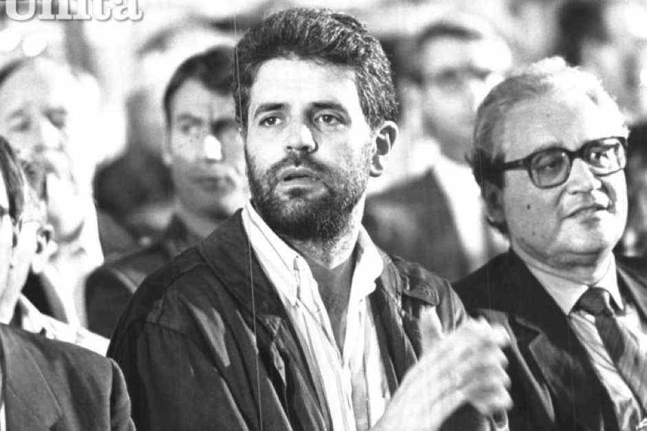 Roberto Formigoni al Meeting 1987.