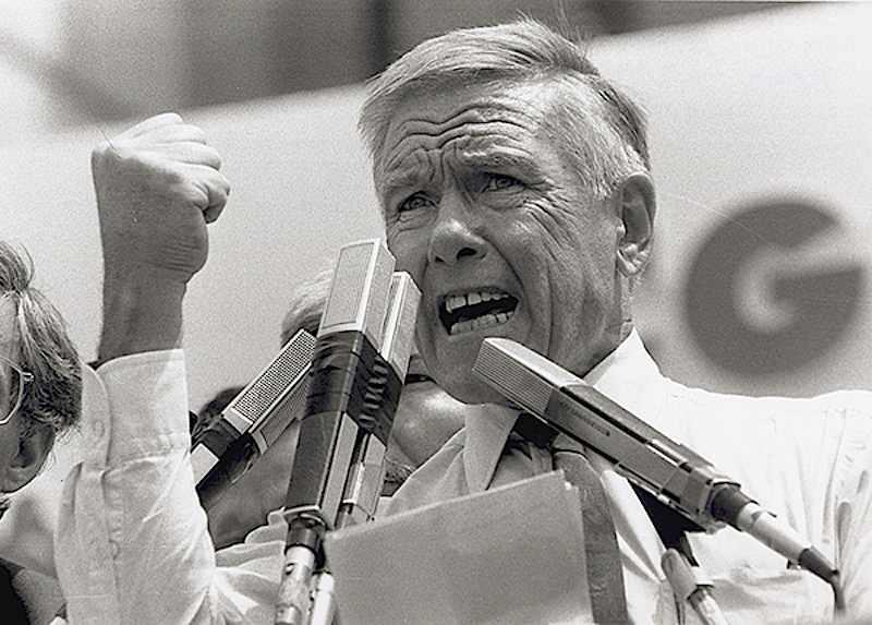 Bruno Trentin, segretario generale della Cgil dal 29 novembre 1988.