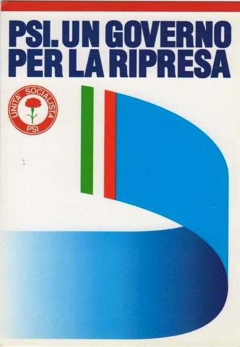 Manifesto per il XLV congresso del Psi del 1989.