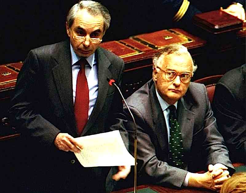 Giuliano Amato presenta il suo I° governo al Parlamento.