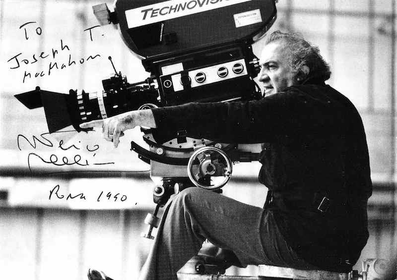 Il 31 ottobre 1993 muore il regista Federico Fellini.