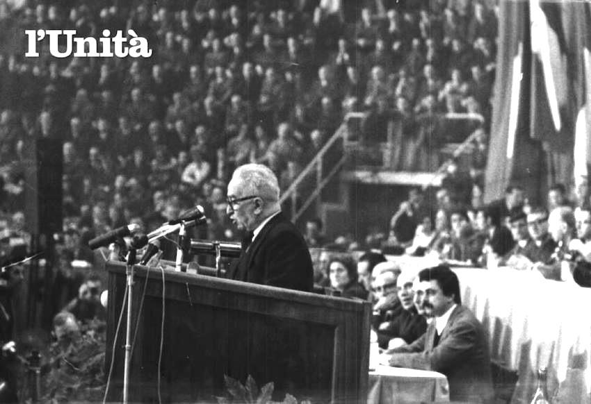 La relazione di Longo al XII congresso.