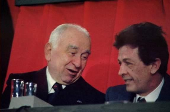Luigi Longo ed Enrico Berlinguer.