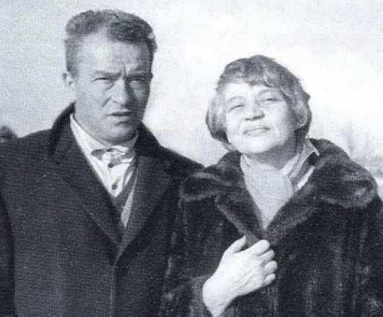 Laura Lombardo Radice con il marito Pietro Ingrao.
