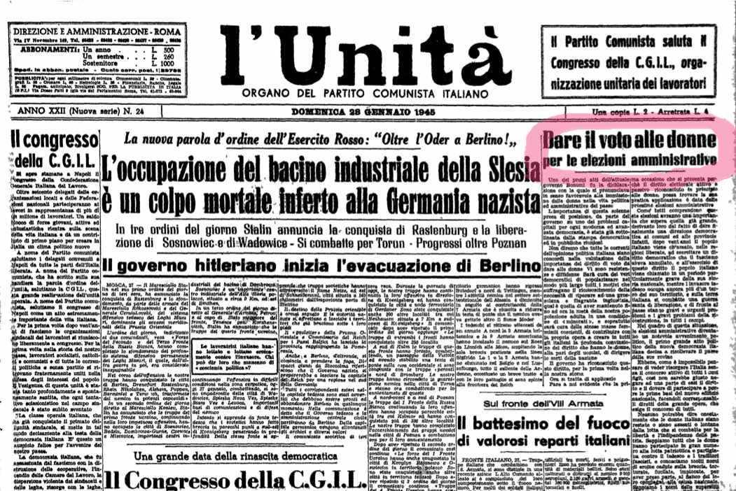 Manifesti della propaganda elettorale per il 18 aprile 1948 e precedentemente per il 2 giugno - Diva e donne giornale ...