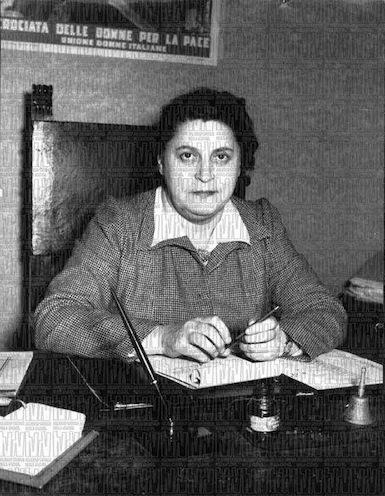 Rina Picolato, nominata nella Consulta nazionale.